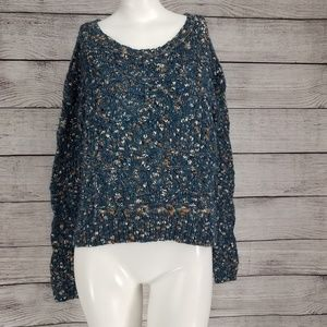 Nordstrom Hinge S Chunky Pullover Sweater Wool